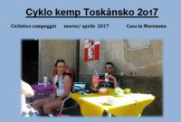 Cyklo kemp Toskánsko 2017
