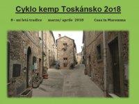 Cyklo kemp Toskánsko 2018